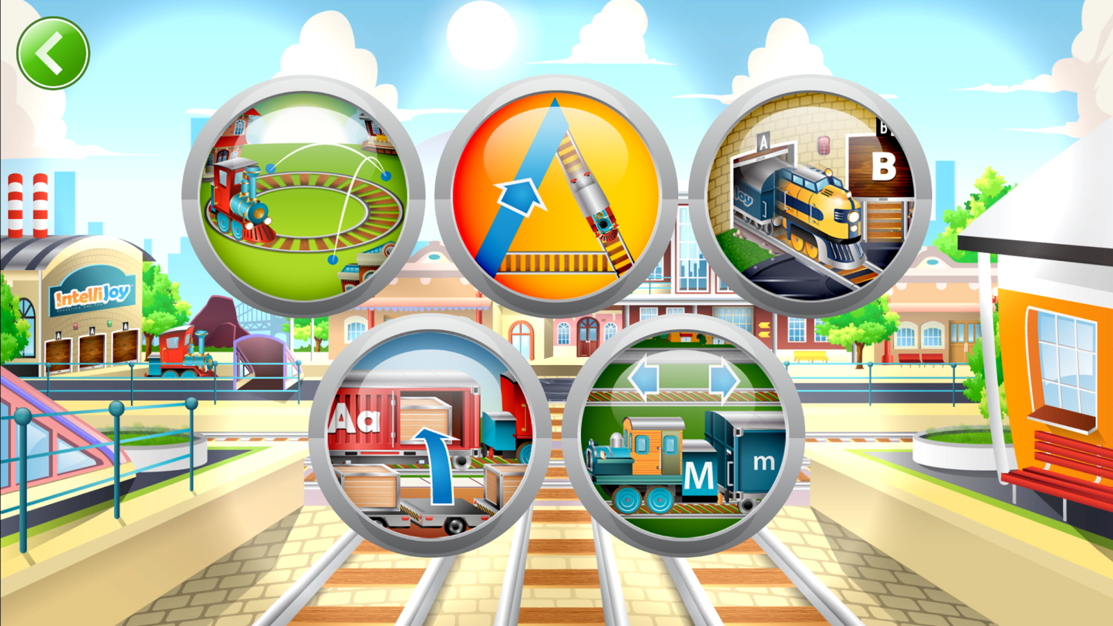 Kids ABC Letter Trains Screenshot 0