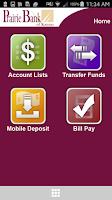 Screenshot of Prairie Bank Mobile Banking
