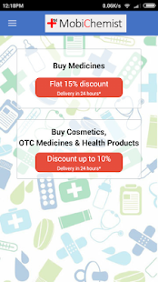 MobiChemist - Online Pharmacy - screenshot