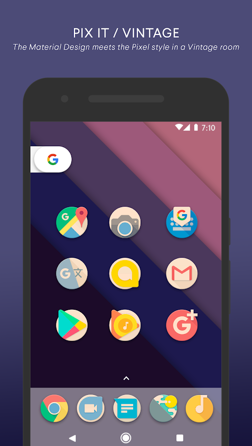 PIX IT VINTAGE - Icon Pack Screenshot 0