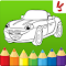 code triche Cars coloring book for kids gratuit astuce