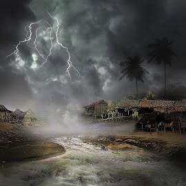 by Abhirama Arro - Digital Art Places