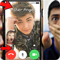 Real Asher Angel Video Call For PC / Windows 7.8.10 / MAC