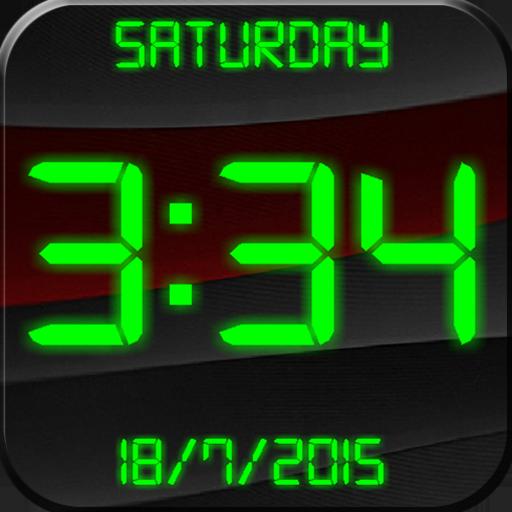 цифровые часы заставка на телефон № 56956 без смс