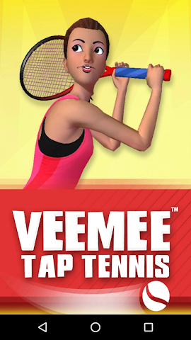 android Veemee Avatar Tap Tennis Screenshot 0