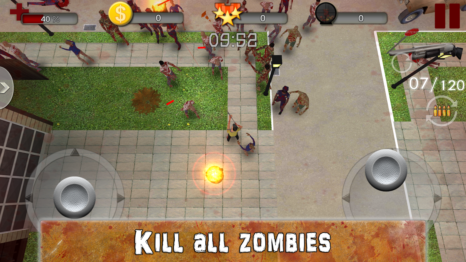 World of Zombies Screenshot 1
