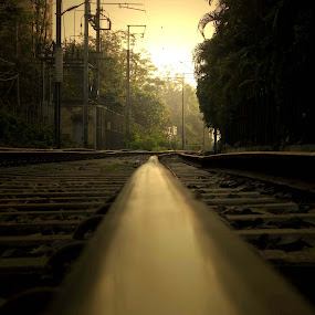 TRAIN LINE........ by Arunabha Kundu - Travel Locations Railway ( soham, pratiki, arijit, arnab, dipankar )