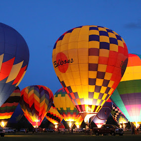Balloon Glow 1 by Shane Hughes - Transportation Other