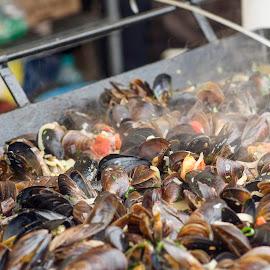 Shellfish food by Iulian Cahul - Food & Drink Cooking & Baking ( shells, food )