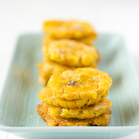 Puerto Rican Tostones - Fried Plantains