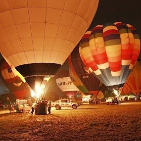 Putrajaya Hot Air Ballon 2011 by Mohd Rashidin Ideres - Transportation Other