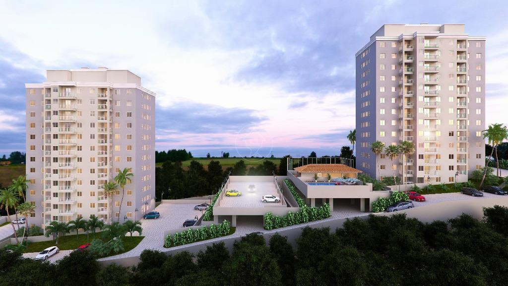 Apartamento com 2 dormitórios à venda, 49 m² por R$ 170.000 - Residencial Provence - Itatiba/SP