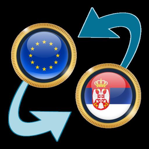 Android aplikacija Euro x Serbian Dinar