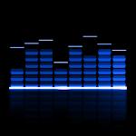 Audio Glow Music Visualizer Icon