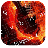 App Hell Flame Keyboard 10001001 APK for iPhone
