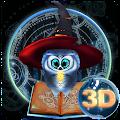 Cute Magic Owl 3D Theme