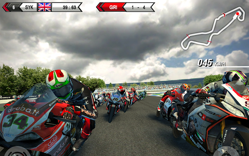 SBK15 Official Mobile Game Screenshot