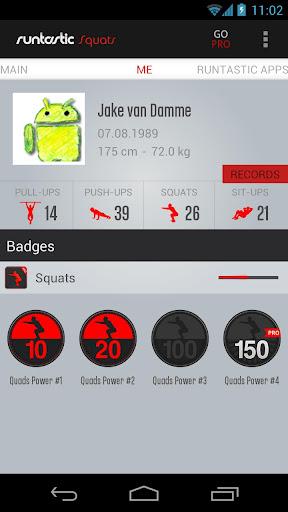 Runtastic Squats Workout screenshot 4