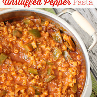 One-Pot Unstuffed Pepper Pasta