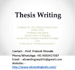 6.The Most Recommended PhD Thesis Writing Services in Nashik for all PhD Students