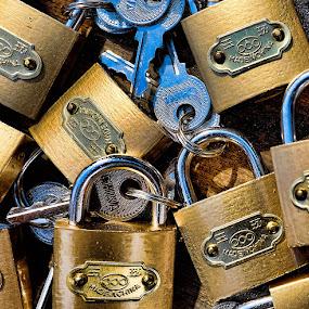 locks by Ferdinand Ludo - Products & Objects Industrial Objects ( for sale, small closet locks, keys,  )