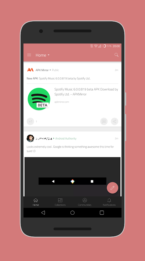 [Substratum] Outline Theme Screenshot 4