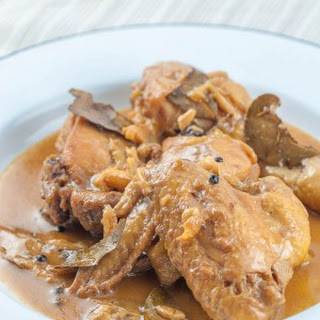 Paleo Chicken Adobo