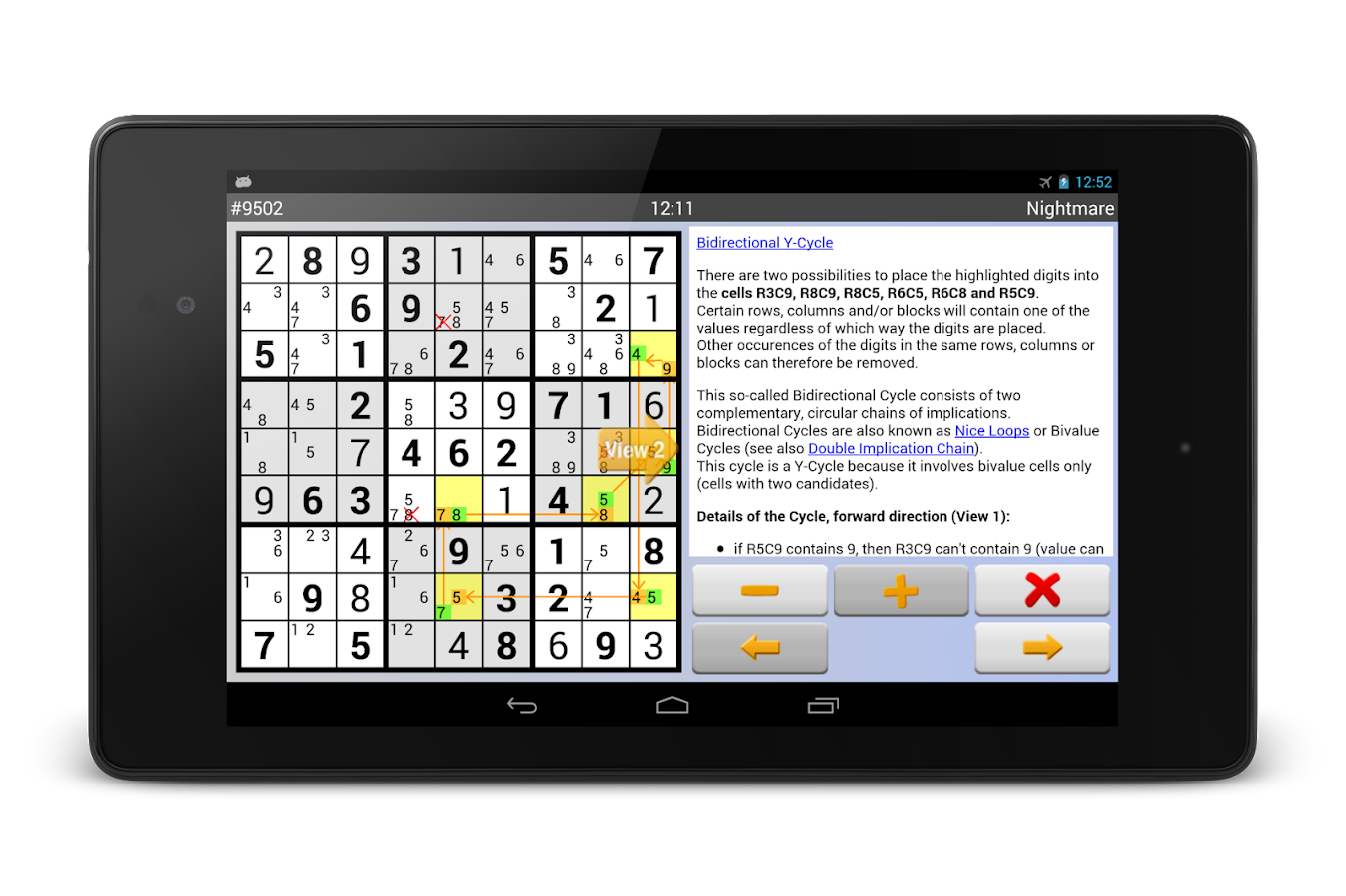 Sudoku 4ever Plus Screenshot 11