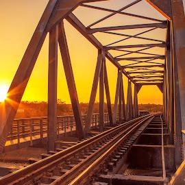 by Germzki Hitch Cardenas - Transportation Railway Tracks