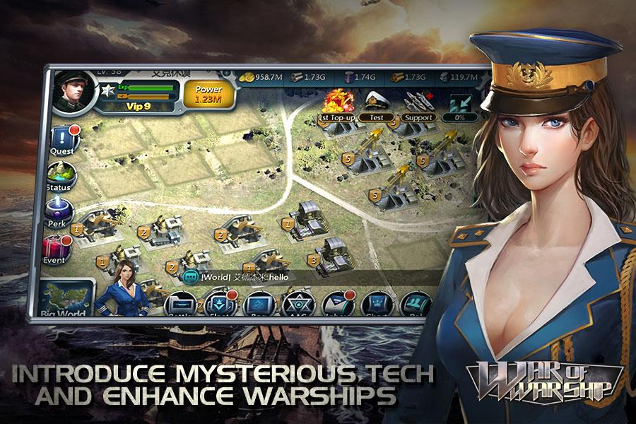 War of Warship Screenshot 5