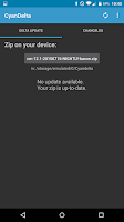 Screenshot of CyanDelta Updater