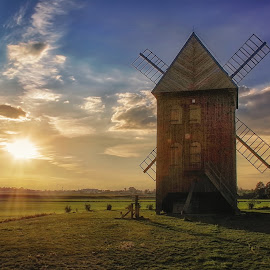 windmill by Tomasz Marciniak - Buildings & Architecture Public & Historical