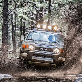Four wheeling by Preston Trauscht - Transportation Automobiles ( four wheeling, fj, adventure, extreme, 4 wheeling, mud, cruiser, truck, suv, fj cruiser, toyota, Free, Freedom, Inspire, Inspiring, Inspirational, Emotion )