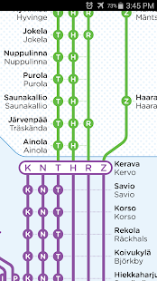 Helsinki Rail Map - screenshot