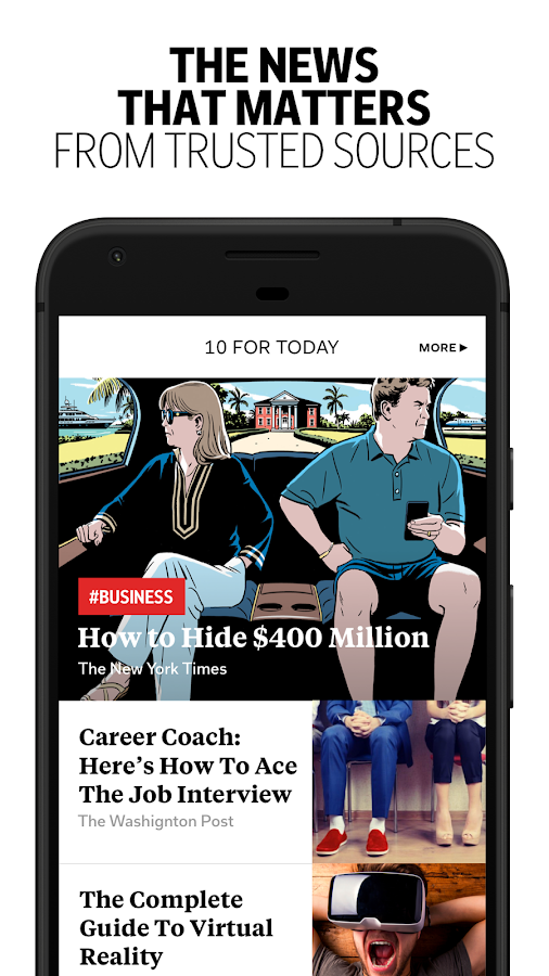 Flipboard: News For Any Topic Screenshot 1