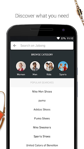 JABONG ONLINE SHOPPING APP screenshot 2