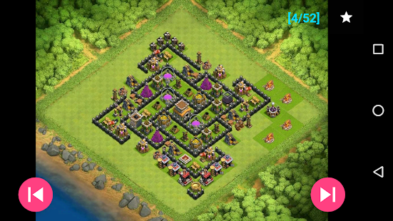 Free Maps of Coc TH8 APK for Windows 8