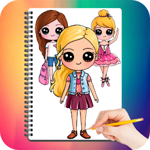 Drawing Cute Chibi Girls For PC / Windows 7/8/10 / Mac – Free Download