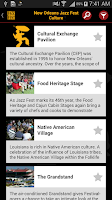 Screenshot of New Orleans Jazz Festival