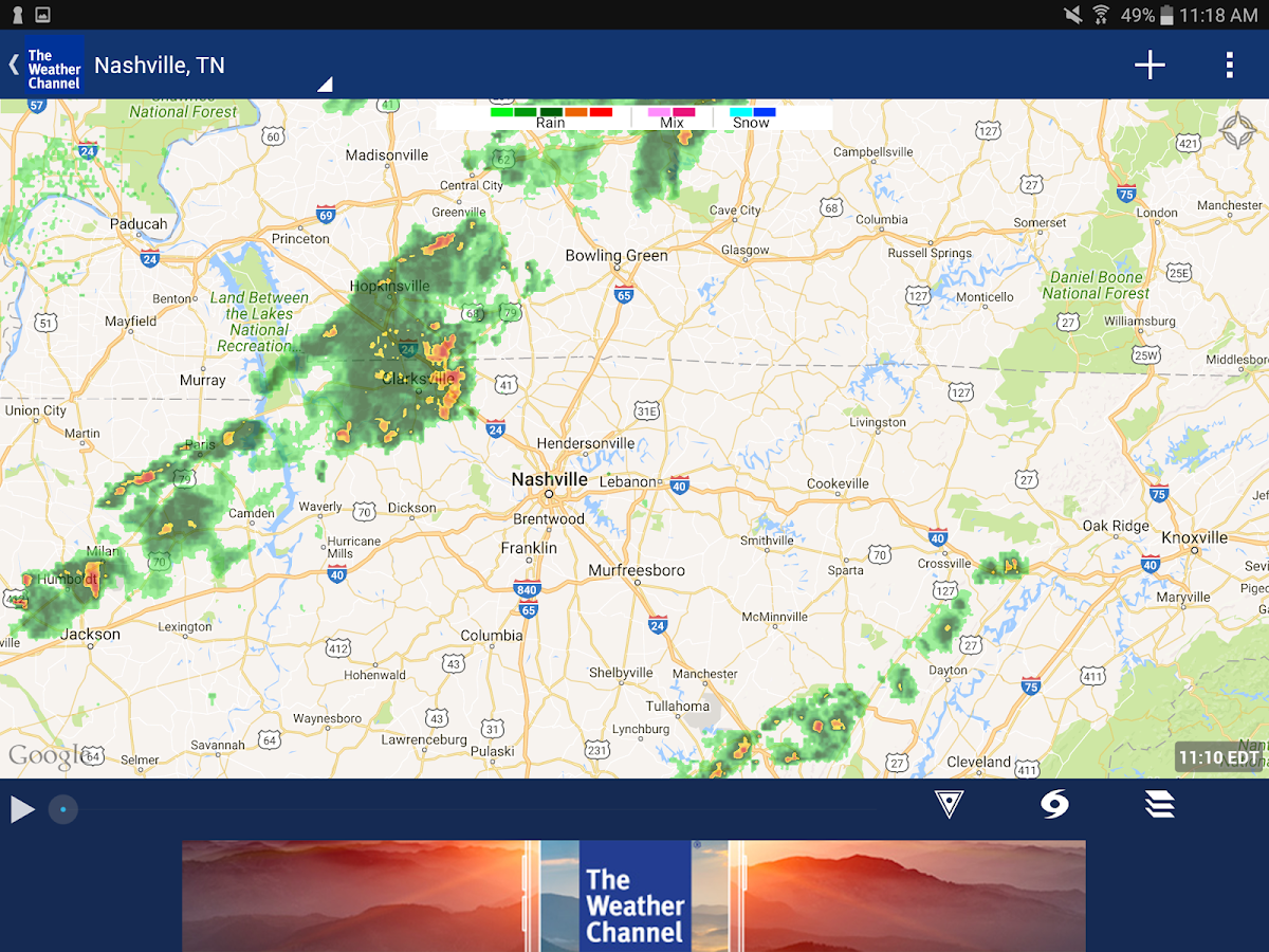 The Weather Channel Screenshot 9
