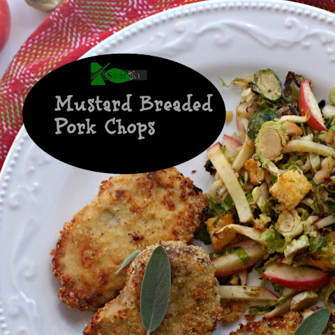 Mustard Breaded Pork Chops