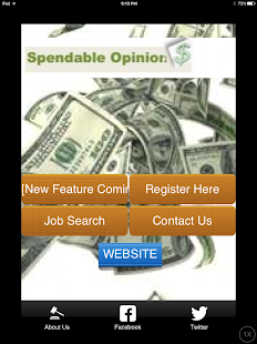 Spendable Opinion$ - screenshot
