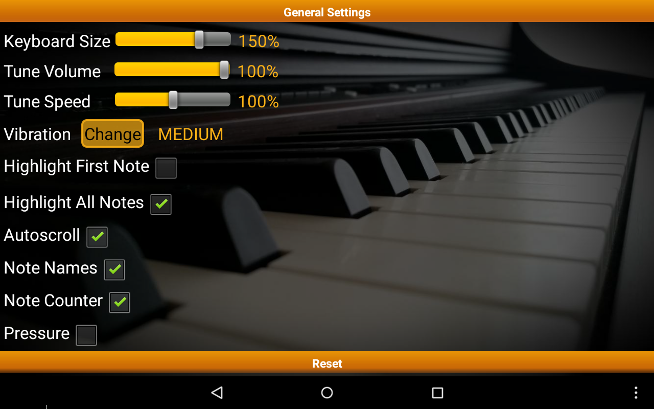 Piano Melody Pro Screenshot 9