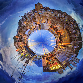 Planet of RIjeka by Sinisa Mrakovcic - Digital Art Places (  )