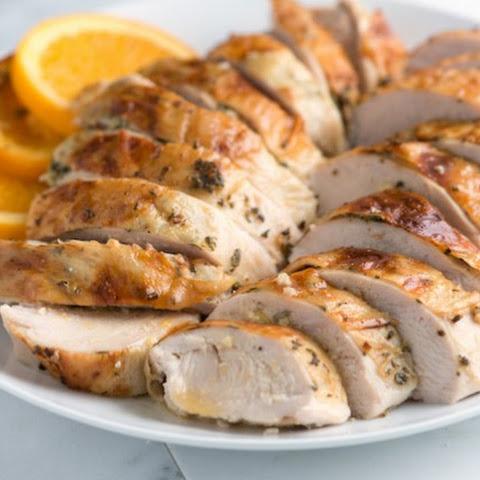 Orange and Rosemary Roasted Turkey Breast Recept | Yummly