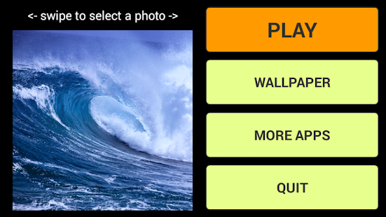 Waves LWP + Puzzle - screenshot