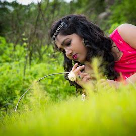 Green by Shashi Patel - People Fashion ( shashiclicks, nature, green, shape, shadows )