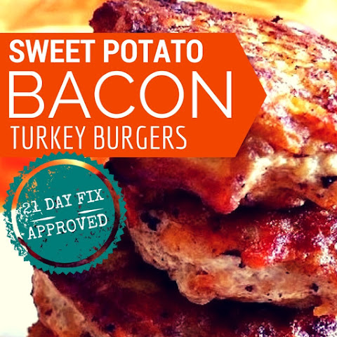 Sweet Potato and Bacon Turkey Burgers