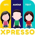 App XPRESSO - My animated 3D avatar anime gif sticker apk for kindle fire