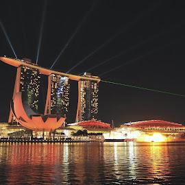 Singapore by Tomasz Budziak - City,  Street & Park  Vistas ( asia, architecture, singapore )